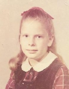 Sharon's pic at 8yrs old